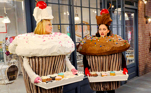 série comique 2 broke girls