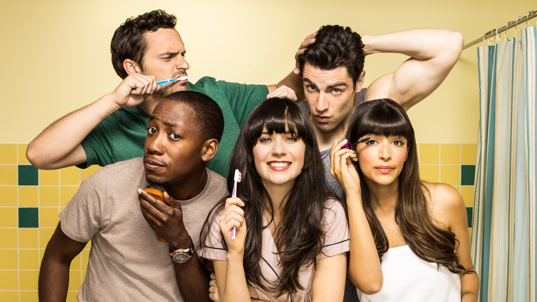 série comique new girl