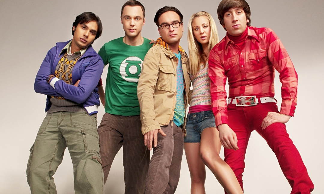série big bang theory